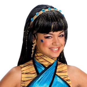 Monster High - Cleo de Nile Wig Child - Black / One-Size