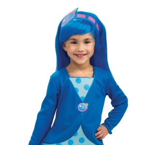 Strawberry Shortcake - Blueberry Muffin Wig Child - Blue / One-Size