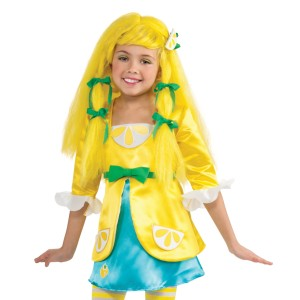 Strawberry Shortcake - Lemon Meringue Wig Child - Yellow / One-Size