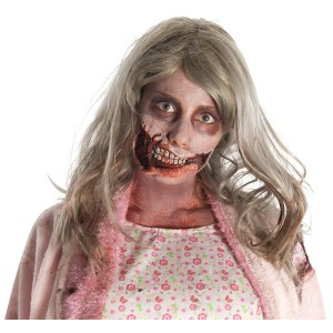 The Walking Dead - Little Girl Mouth Latex Prosthetics Adult