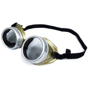 Steampunk Goggles Brown - Brown / One-Size