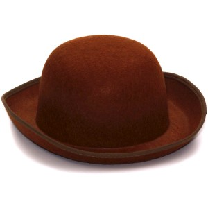 Steampunk Derby Hat Brown - Brown / One-Size