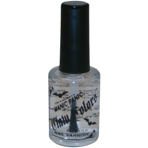 Hardcore Clear Top/Bottom Coat Nail Polish - White