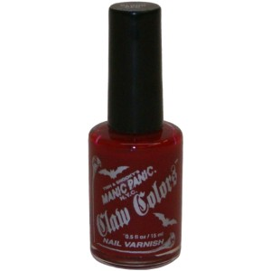 Blood Red Nail Polish