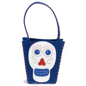 Day of the Dead Bag - Blue / One-Size