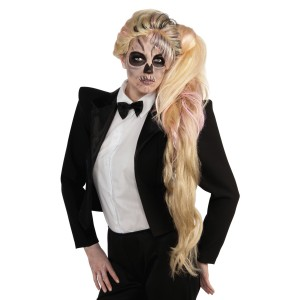 Lady Gaga Side Ponytail Wig Adult
