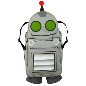 Ratchet & Clank - Clank Backpack Child - Silver