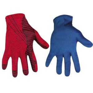 The Amazing Spider-Man Gloves Adult - Red/Blue / One-Size