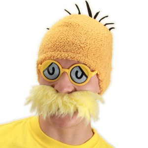 Dr. Seuss Lorax Accessory Kit Adult - Orange / One-Size