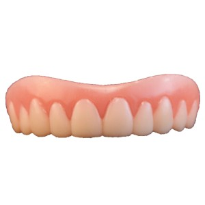 Instant Smile Teeth Adult - White / One-Size