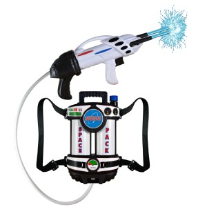 Astronaut Space Pack - Super Soaking Water Blaster - White/Blue / One-Size