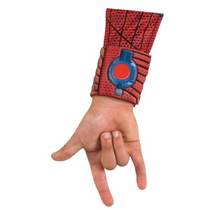 The Amazing Spider-Man Child Web Shooter Cuffs - Red / One-Size