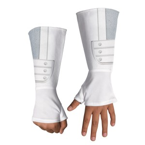 G.I. Joe Retaliation Storm Shadow Deluxe Child Gloves - White / One-Size