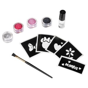Disney Mickey Mouse Clubhouse Minnie Mouse Glitter Tattoo Kit - Multi-colored / One-Size