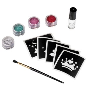 Disney Princess Glitter Tattoo Kit - Multi-colored / One-Size
