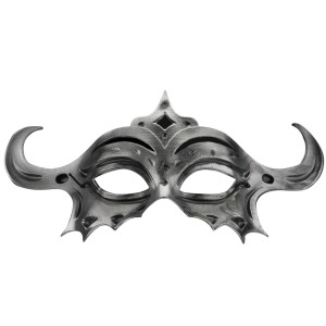 Masquerade Eye Mask Adult - Silver / One-Size