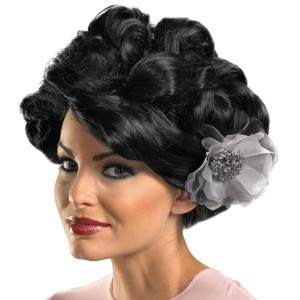Dark Bloom Deluxe Wig Adult - Black / One-Size