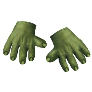 The Avengers Hulk Hands Adult - Green / One-Size