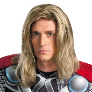 The Avengers Thor Wig Adult - Blonde / One-Size
