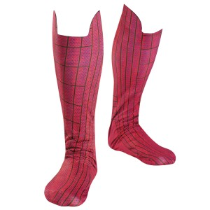 The Amazing Spider-Man Movie Boot Covers - Red/Blue / One-Size