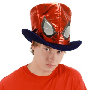 Spider-Man Adult Hat - Red/Black / One-Size