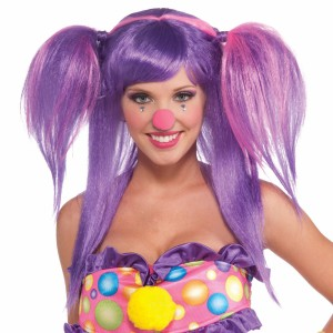 Circus Sweetie Berry Bubbles Wig - Purple / One-Size
