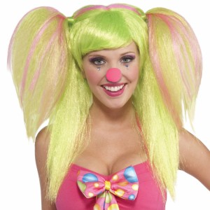 Circus Sweetie Lollypop Lilly Wig - Lime / One-Size
