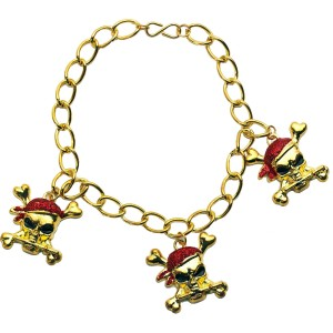 Buccaneer Beauty Red Glitter Adult Bracelet