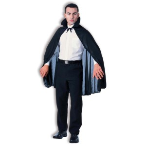 45 Inch Adult Cape - Black