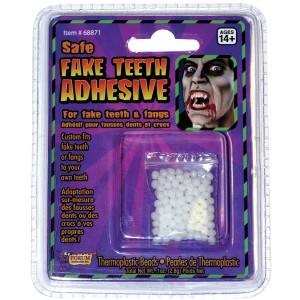 Teeth Replacement Adult Adhesive - Clear / One-Size