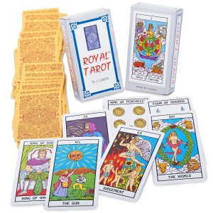 Mystic Fortune Teller Tarot Cards - Multi-colored / One-Size