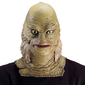 Universal Monster Collector's Edition Creature from the Black Lagoon Adult Mask - Green / One-Size