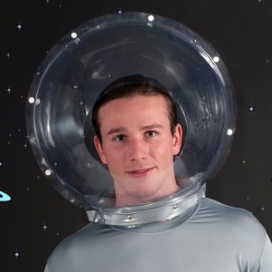 Space Helmet Adult - Clear / One-Size