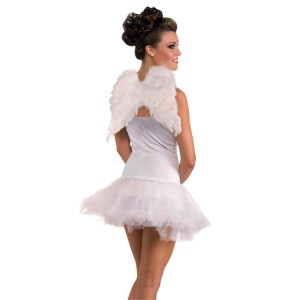Club Angel Wings Adult - White / One-Size