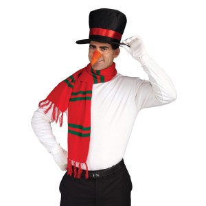 Snowman Accessory Kit - Red/Black / One-Size
