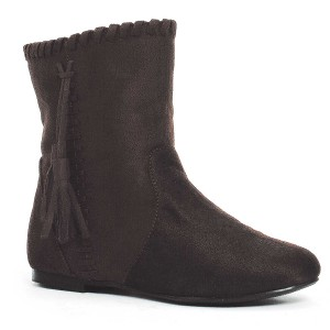 Brown Moccasin Child Boots - Brown / Small (11/12)