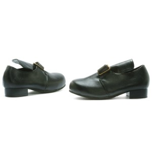 Colonial Child Shoes - Black / X-Large (4/5)