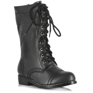 Combat Child Boots - Black / Small (11/12)