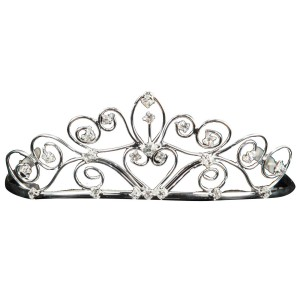 Silver Child Tiara - Silver / One-Size