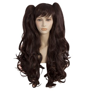 Dark Brown Cosplay Adult Wig