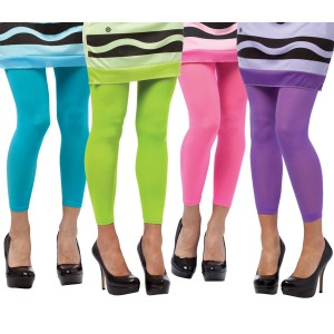 Crayola - Footless Adult Tights - Lime