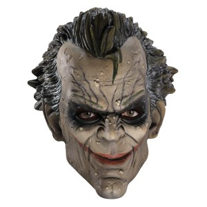 Batman Arkham City Joker Adult Mask - Grey / One-Size