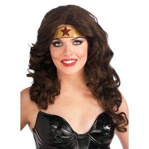 Wonder Woman Crown Tattoo - Gold / One-Size