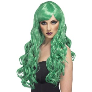 Desire Green Adult Wig - Green / One-Size