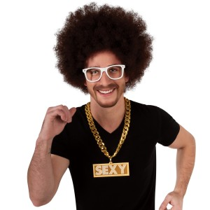LMFAO Sexy Chain Adult - Gold / One-Size