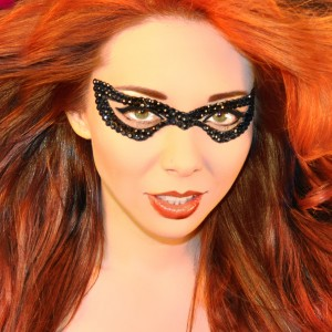 Xotic Eyes Bad Girl Mask - Black / One-Size
