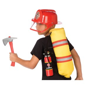 Gear to Go - Fireman Adventure Play Set - Red / One-Size