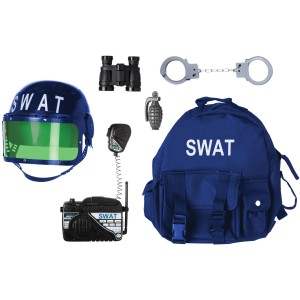 Gear to Go - SWAT Adventure Play Set - Black / One-Size