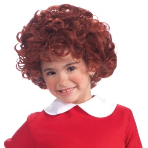 Annie Child Wig - Red / One-Size