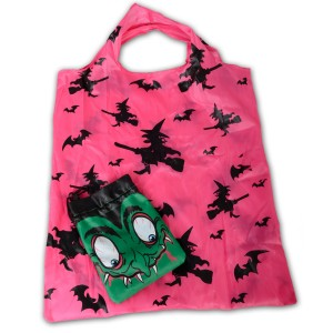 Witch Bag In A Bag - Black/Hot Pink / One-Size